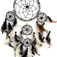Beautiful Handmade Dream Catcher Wall Hanging Ornament (With a Betterdecor Gift Bag)-5RWBL