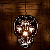 Skull Tea Light Candle Holder - Urban Outfitters