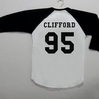 Clifford 95 5SOS Long Sleeve Tee Shirt T-Shirt Top Unisex Size