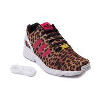 Womens adidas ZX Flux Cheetah Athletic Shoe