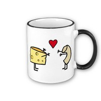 Macaroni and Cheese Mugs from Zazzle.com