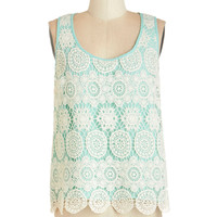 ModCloth Vintage Inspired Mid-length Sleeveless Object of My Confection Top