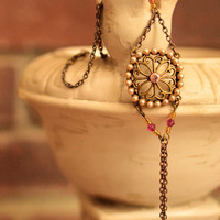 Pretty Gypsy Slave Bracelet by turquoisecrush on Etsy