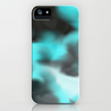 Black-teal Magic iPhone & iPod Case by ProArte