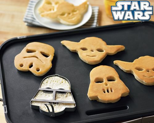 Star Wars Heroes &amp; Villains Pancake Molds | Williams-Sonoma
