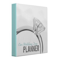 Wedding Planner Binder from Zazzle.com