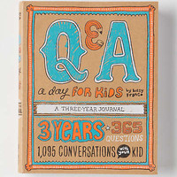 Q&A A Day For Kids: A Three Year Journal by Anthropologie Assorted One Size Gifts