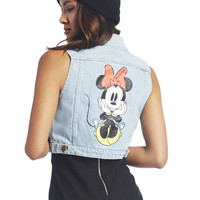 Minnie Mouse™ Denim Vest | Wet Seal