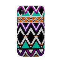 Multicolor Tribal Pattern 2 Samsung Galaxy S Covers from Zazzle.com
