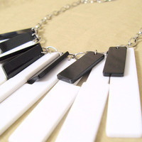 Keyboard Necklace by ohmyfrock - Chictopia