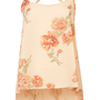 Rose Print Step Hem Cami Top - Tops - Clothing - Topshop