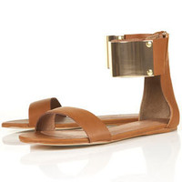 FORTUNE Metal Cuff Sandals - Flats - Shoes - Topshop