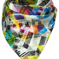 No Signal Scarf by Beta** - Scarves - Accessories - Topshop