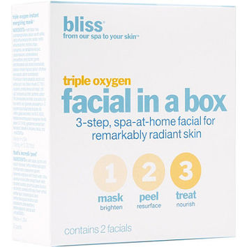 Triple Oxygen Facial In A Box