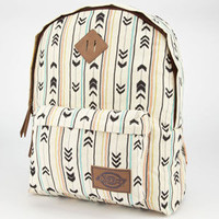 Dickies Arrow Print Backpack Ivory One Size For Women 24171416001