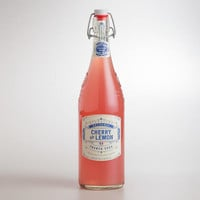 Artisanal Cherry and Lemon French Soda