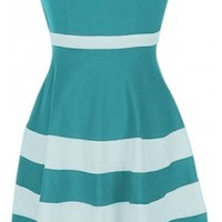Sweetheart Colorblock Dress $53.00
