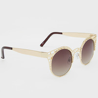 Paolo Chic Sunglasses - Gold
