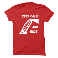 Keep Calm and Ride - Roller Coaster T Shirt