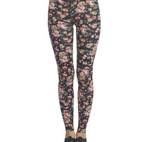 Floral Legging | Wet Seal
