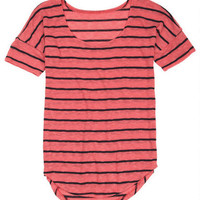 Stripe Sweaterknit Tunic -