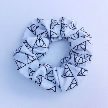Harry Potter Inspired Hallows Hair Scrunchie