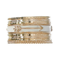 Sweet Arrow Bangle Set