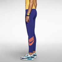 Nike Leg-A-See Logo Women's Leggings - Deep Royal Blue