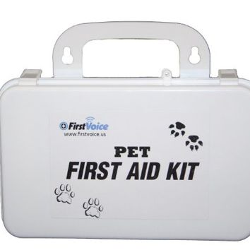 First Voice PET01 Basic Pet First Aid Kit