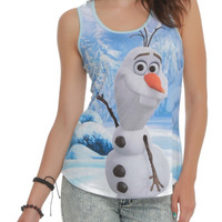 Disney Frozen Olaf Girls Tank Top