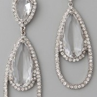 Kenneth Jay Lane Tear Drop Earrings | SHOPBOP