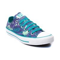 Womens Converse All Star Lo Feathers Sneaker