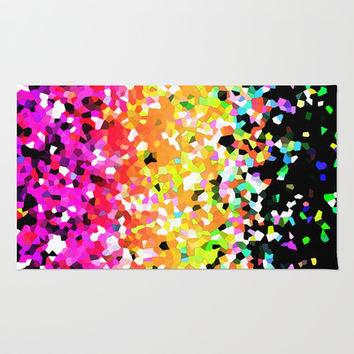 Mosaic Sparkley Texture G225 Area & Throw Rug by MedusArt | Society6