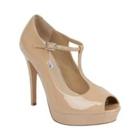 Issabell - T Strap Peep Toe Shoes by Steve Madden