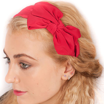 bows doubled - the headband
