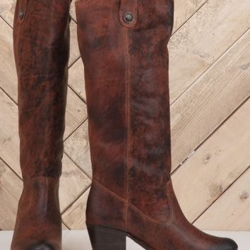 Frye Jackie Button Boot - Footwear