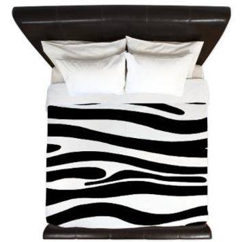 King Duvet> Zebra Collection> KCavender Design