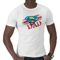 Super Dad Stripes Shirt from Zazzle.com