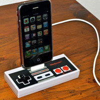 Retro To Go: Rock Dock - Nintendo NES iPhone/iPod dock