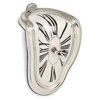 ThinkGeek :: Melting Clock
