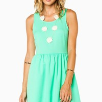 ShopSosie Style : Sweet Lisa Dress in Bright Green