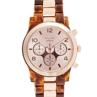 Tortoiseshell Boyfriend Watch