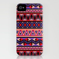 Neo Tribal iPhone Case by Amy Sia | Society6