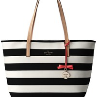kate spade new york Hawthorne Lane Ryan Shoulder Bag,Black/Cream,One Size