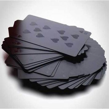 Black Playing Cards - 2Shopper, Inc.