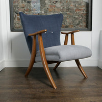 1950s Belgian Armchair | FUSE Vintage Furniture