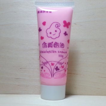 Simulation Cream (fake whipped cream) 50 ml - pink