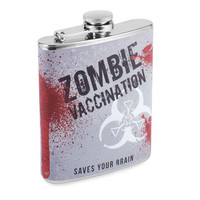 Zombie Vaccination Flask