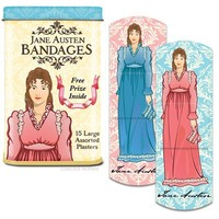 Jane Austen Bandages - Pre-Order Now, Ships 7/11!