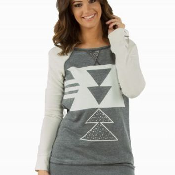AZTEC COLORBLOCK FLEECE